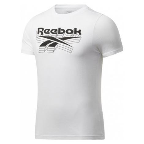 Reebok GS OPP TEE white - Men's T-Shirt