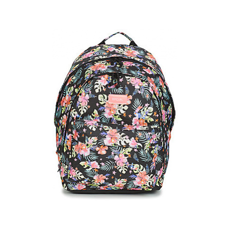 Rip Curl DOUBLE DOME TOUCAN FLORA girls's Children's Backpack in Black
