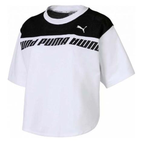 Puma MODERN SPORTS SWEAT TEE white - Women's T-shirt