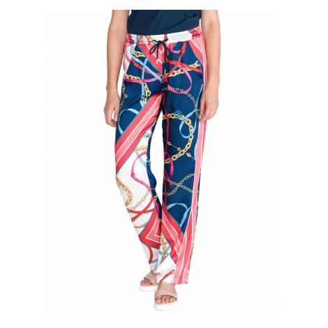 Pinko Paula Trousers Blue Pink