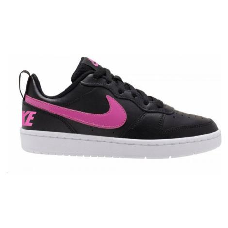 Nike COURT BOROUGH LOW 2 GS white - Kids' leisure shoes