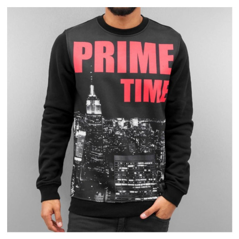 Just Rhyse Prime Time Sweater Black