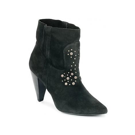 Ikks BOTTINE PAISLEY women's Low Ankle Boots in Black