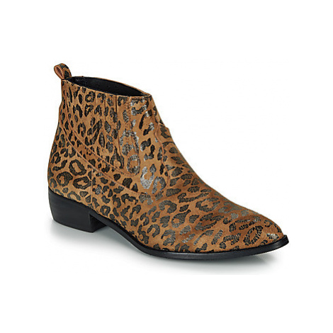 Ippon Vintage GILL ARTY women's Mid Boots in Brown