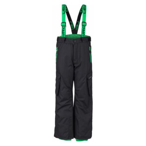 Lewro HRISCO green - Kids' snowboard pants