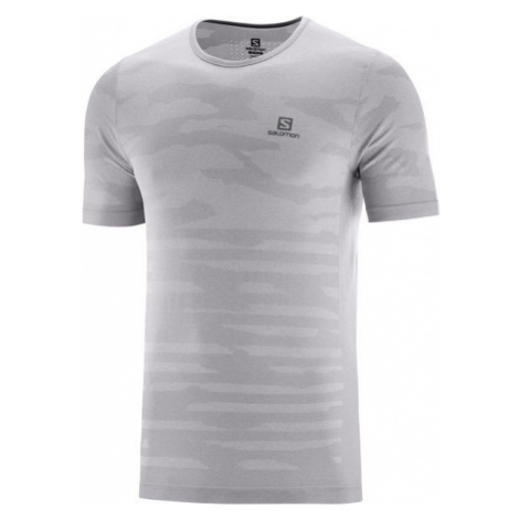 Salomon XA CAMO TEE grey - Men's T-shirt
