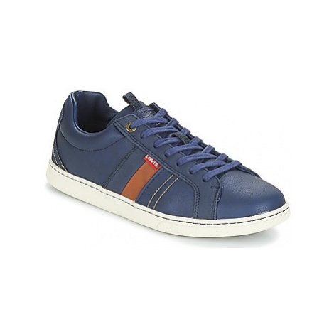 Levis TULARE men's Shoes (Trainers) in Blue Levi´s