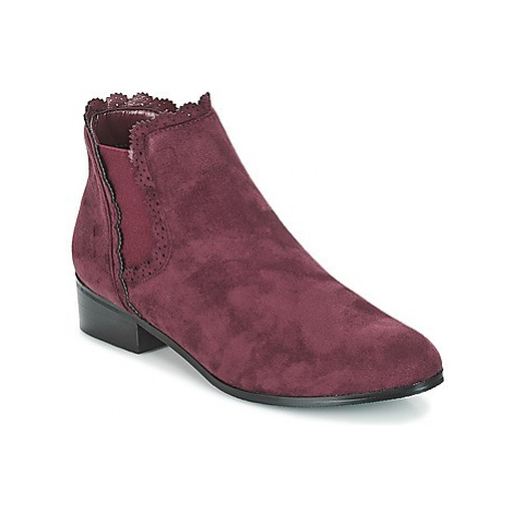 Moony Mood JERMA women's Mid Boots in Purple