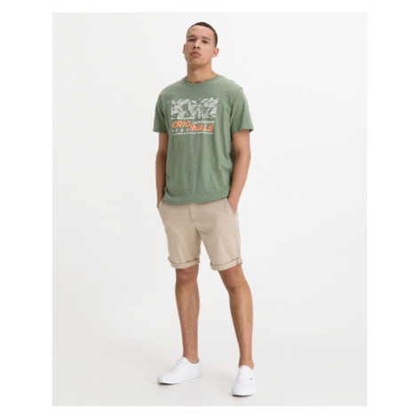 Jack & Jones Lefo Placement T-shirt Green