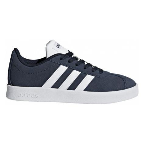 adidas VL COURT 2.0 K dark blue - Kids' leisure shoes