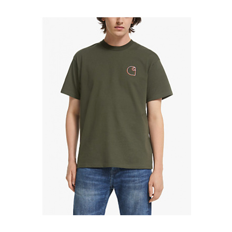 Carhartt WIP Commission Logo T-Shirt, Green