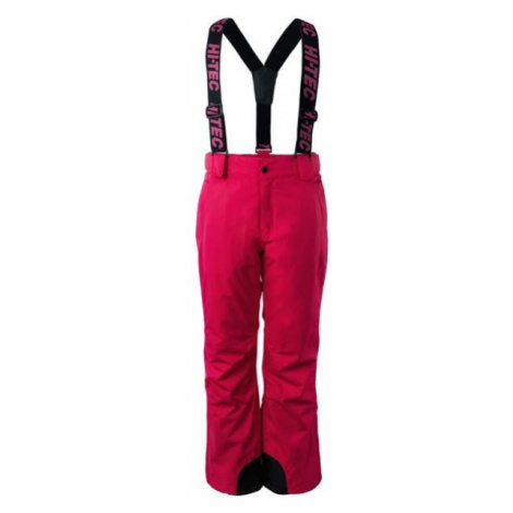 Hi-Tec DRAVEN JR pink - Children's ski pants