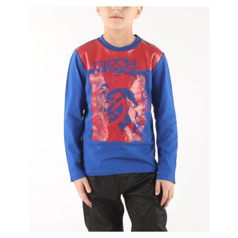 Diesel Tiago Kids T-shirt Blue