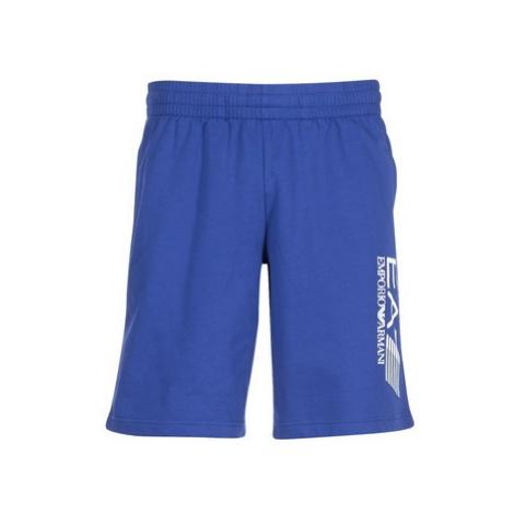 Emporio Armani EA7 TRAIN VISIBILITY 3ZPS73 men's Shorts in Blue
