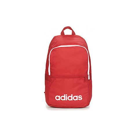 Adidas LINEAR CLASSIC DAILY BACKPACK men's Backpack in Red