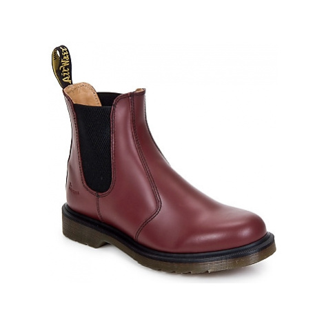 Dr Martens 2976 CHELSEA BOOT women's Mid Boots in Bordeaux