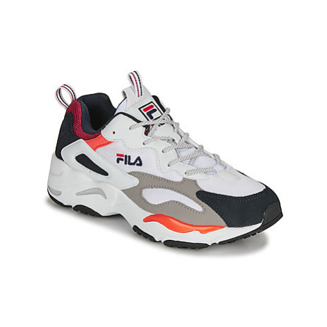 Fila RAY TRACER men's Shoes (Trainers) in White