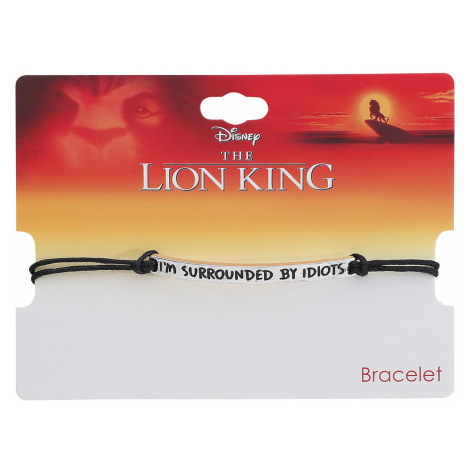 The Lion King - I'm Surrounded By Idiots - Bracelet - silver-coloured