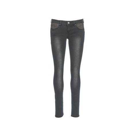 Freeman T.Porter CLARA women's Skinny Jeans in Black Freeman T. Porter