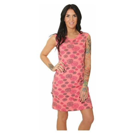 dress Loap Adenka - J24JY/Calypso Coral/Pink Allover - women´s