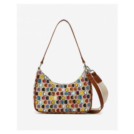 Desigual Dynamic D Medl Handbag Colorful