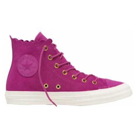 Converse CHUCK TAYLOR ALL STAR FRILLY THRILLS pink - Women's ankle sneakers