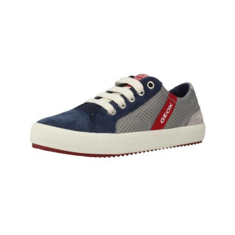 Geox J ALONISSO BOY boys's Children's Shoes (Trainers) in Blue