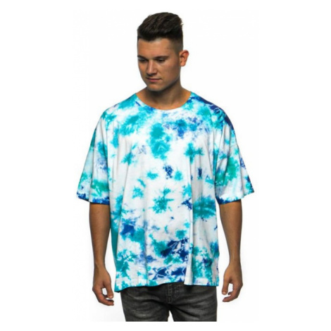 Cayler & Sons CSBL Meaning Of Life Tie Dye Box Tee white/blue