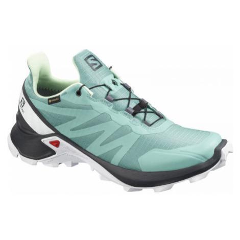 Salomon SUPERCROSS GTX W green - Women's running shoes