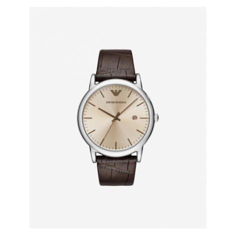 Emporio Armani Watches Brown