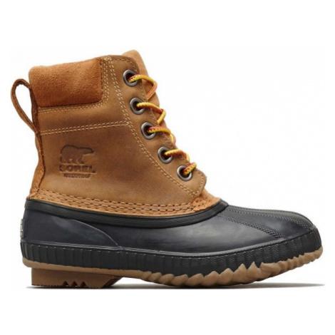 Sorel YOUTH CHEYANNE II LTR brown - Kids' winter shoes