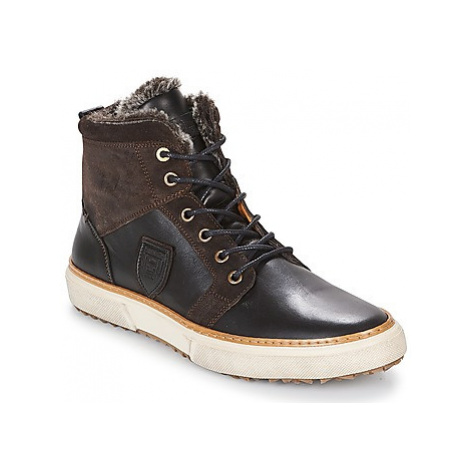Pantofola d'Oro BENEVENTO UOMO FUR MID men's Shoes (High-top Trainers) in Brown