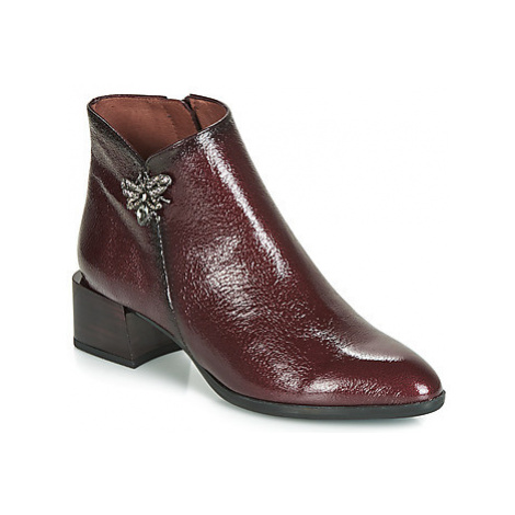 Hispanitas NADIA women's Low Ankle Boots in Red
