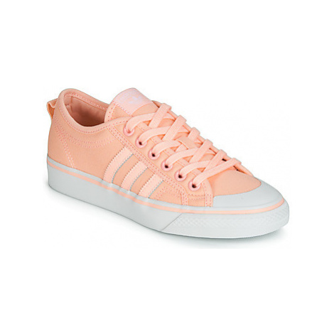 Adidas NIZZA W women's Shoes (Trainers) in Pink