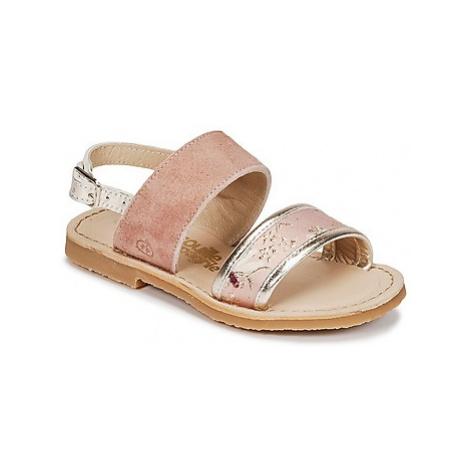 Citrouille et Compagnie IOCHARLI girls's Children's Sandals in Pink