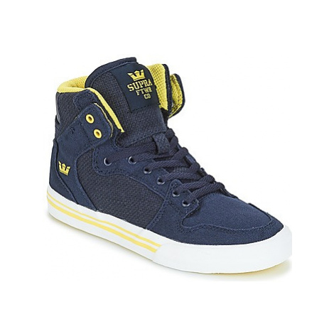 Supra VAIDER girls's Children's Shoes (High-top Trainers) in Blue