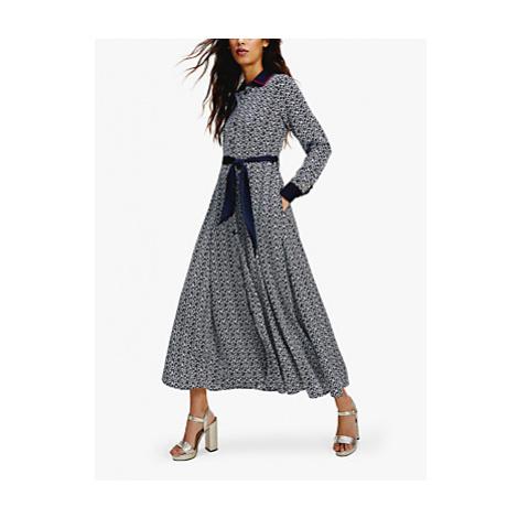 Tommy Hilfiger Maxi Shirt Dress, Blue/Multi