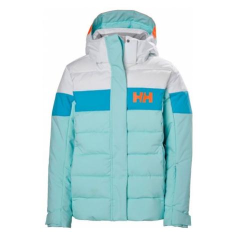 Helly Hansen JR DIAMOND JACKET blue - Girls' skiing jacket