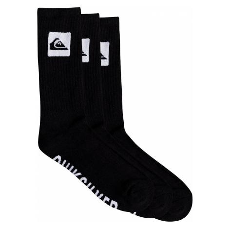 socks Quiksilver Crew 3 Pack - KVJ0/Black