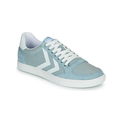 Hummel SLIMMER STADIL MONO LOW women's Shoes (Trainers) in Blue
