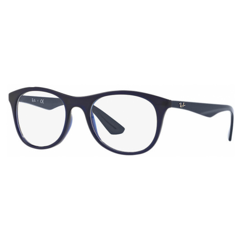 Ray-Ban Rb7085 Man Optical Lenses: Multicolor, Frame: Blue - RB7085 5584 52-19