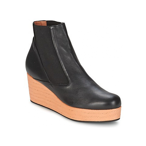 Castaner FABIANNE women's Low Ankle Boots in Black Castañer