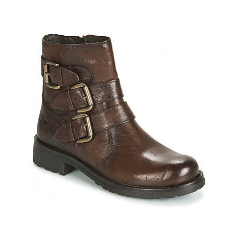 Mustang 2873502-362 women's Mid Boots in Brown