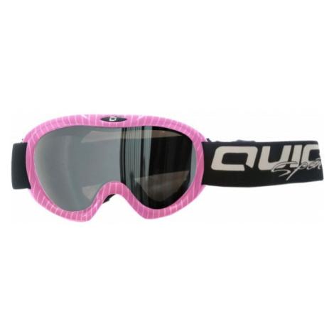 Pink snowboarding equipment