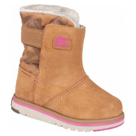Sorel YOUTH RYLEE CAMO brown - Kids' winter shoes