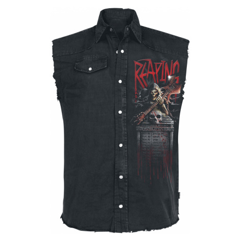 Spiral - Reaping Tour - Sleeveless workershirt - black