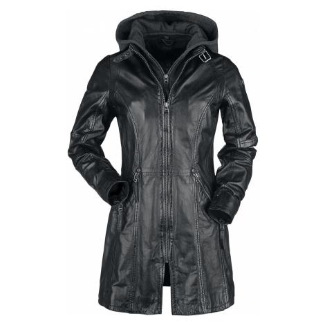 Gipsy GGJandra Lamas Leather Coat black