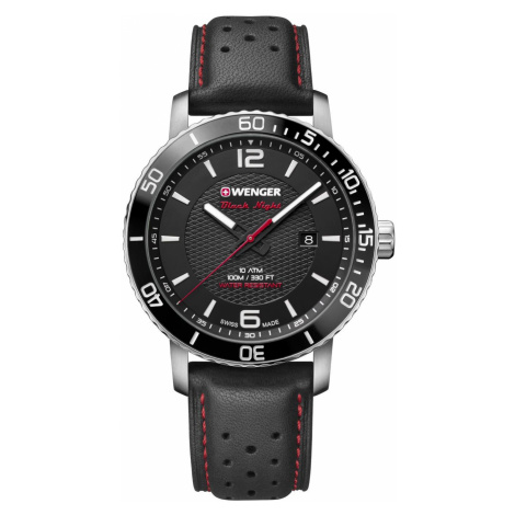 Wenger Watch Roadster Black Night Mens