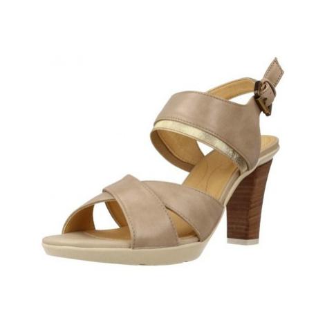 Geox D JADALIS women's Sandals in Brown