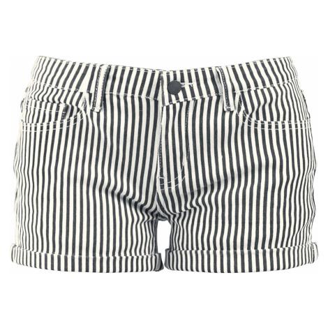 Fashion Victim - Striped Shorts - Girls shorts - black-white